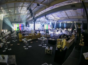 Cell C annual event set up 3
