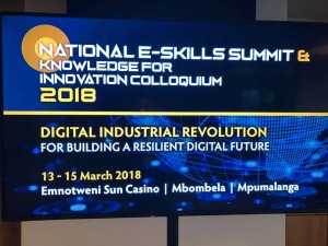 National e skills summit and knowledge for innovation colloquium 2018 1